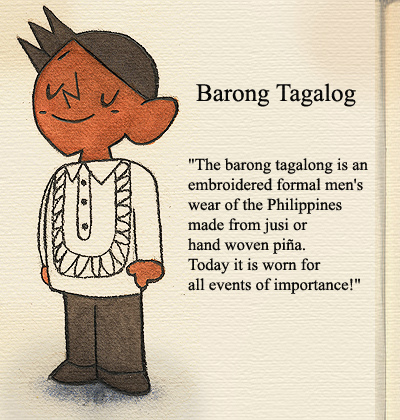 The barong tagalog as a symbol of pride a writer on the sly the barong tagalog as a symbol of pride stopboris